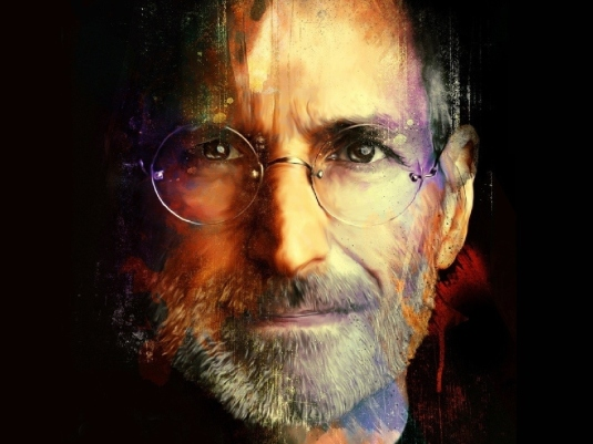 Steve Jobs - portrait 2a
