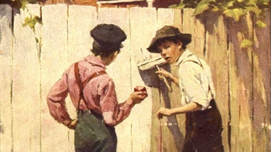 Tom Sawyer - consternation