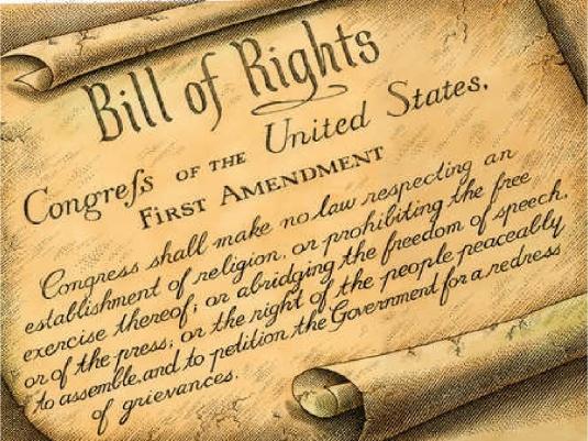 US First Amendment 1