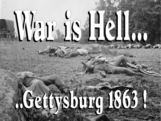 war is hell 1863