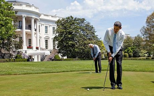 White House - golf 1