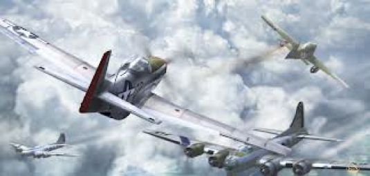 World War II dogfight 1