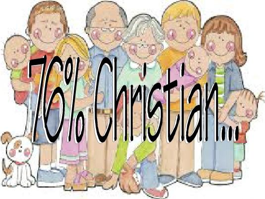 76% Christian 1