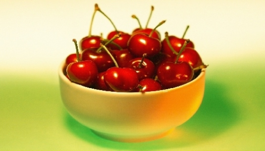 a bowl of cherries 1