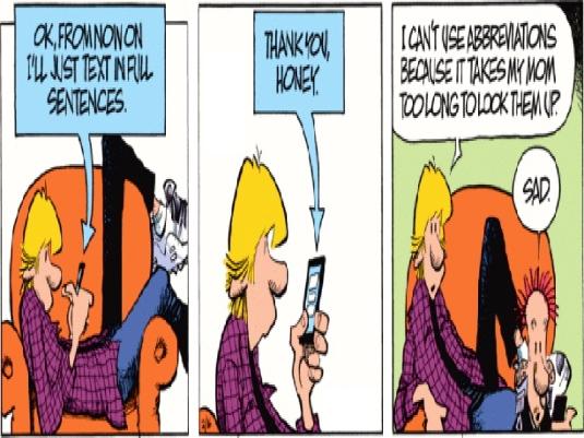 abbreviations cartoon
