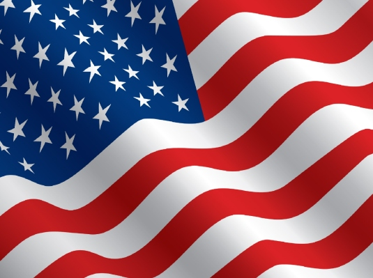 American flag - 50 stars