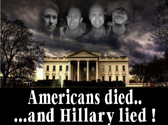 Americans died - Hillary lied 1a