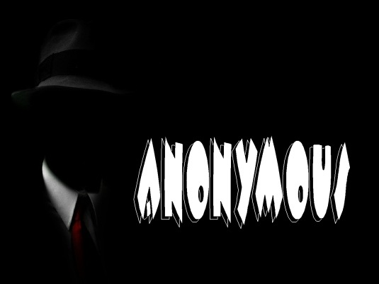 anonymous - black 1a