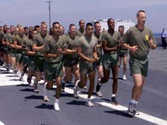 Army running 1a