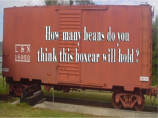 beans in a boxcar 1