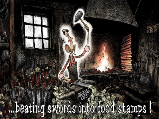 beating swords into food stamps 1a