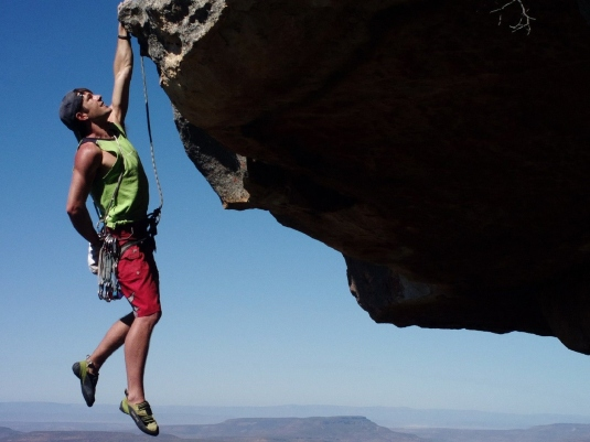 commitment - climber