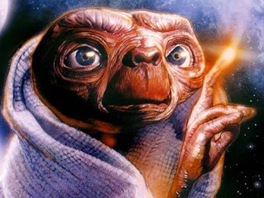 ET from the movie