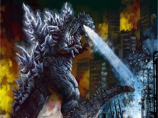 Godzilla's breath 1a