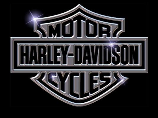 Harley-Davidson logo - black an