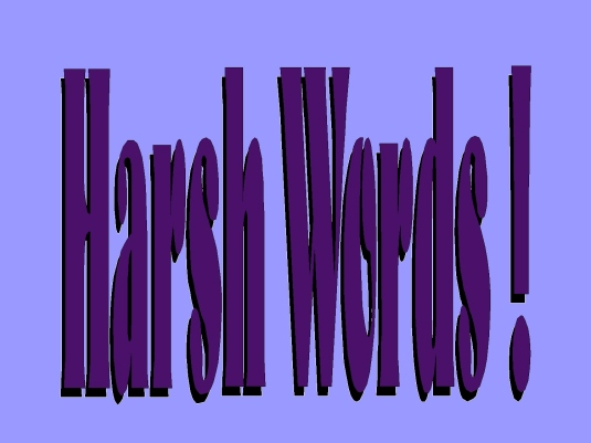 harsh words - graphic 2a