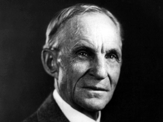 Henry Ford - portrait 1a