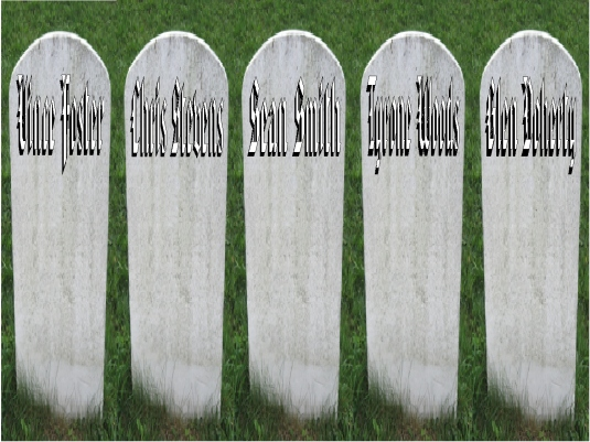 Hillary's body count 1a