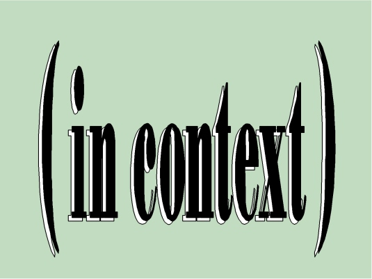 in context - graphic