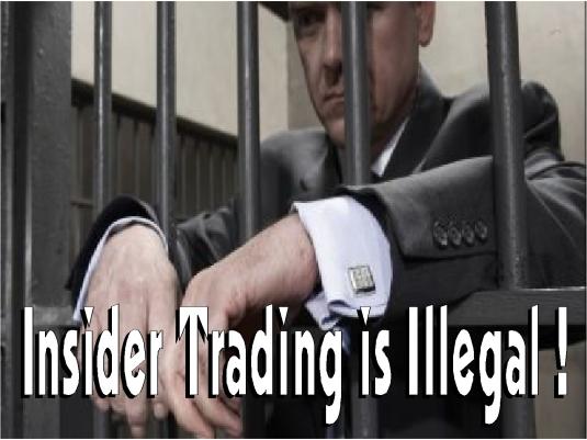 insider trading - illegal 3