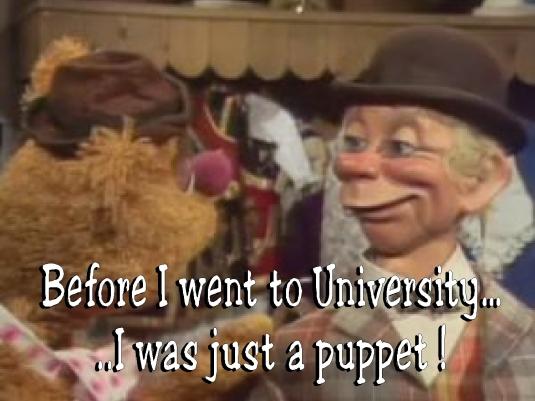 Mortimer - puppet 1