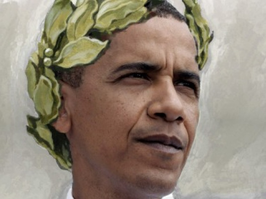 Obama with wreath 1