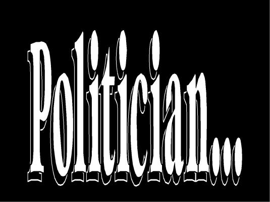 politician - graphic