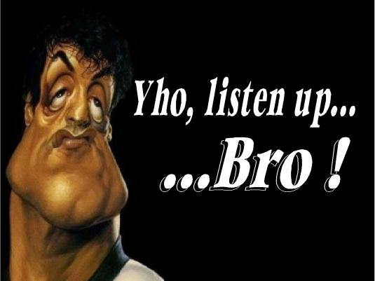 readers forum - listen up Bro 1a