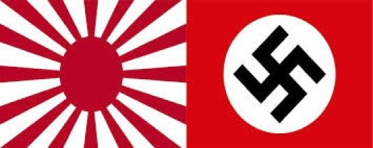 rising sun - swastika