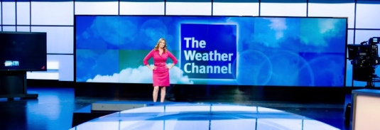 the weather Channel - set