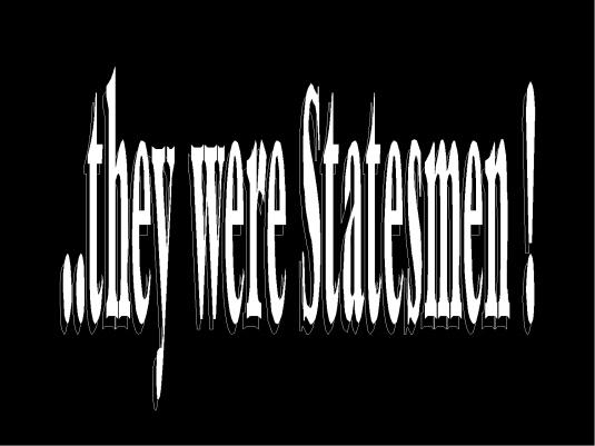 they were statesmen - graphic