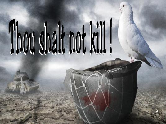 thou shalt not kill - Dove 1