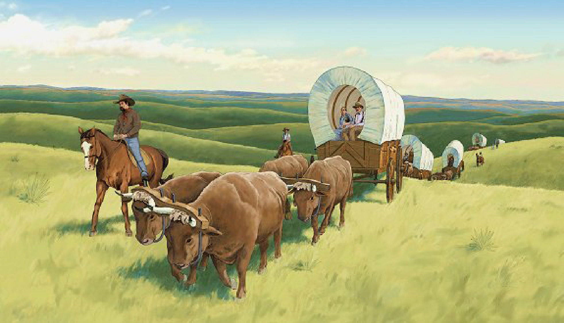 Pictures of pioneers on the oregon trail Oregon - U.S. States - m