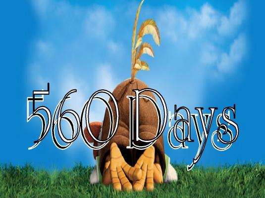 560 days - graphic