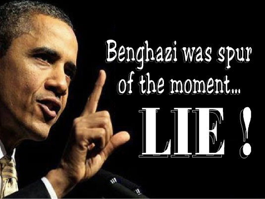Benghazi - spur of the moment