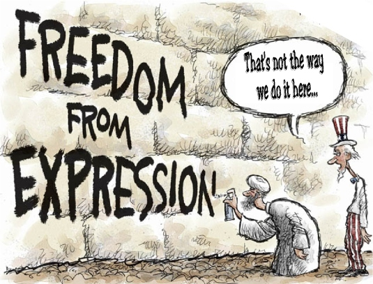 freedom from expression 1a