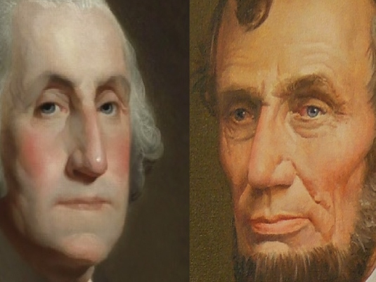 George and Abe 1a