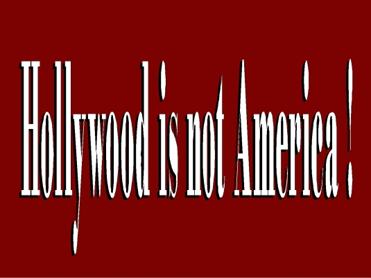 Hollywood is not America