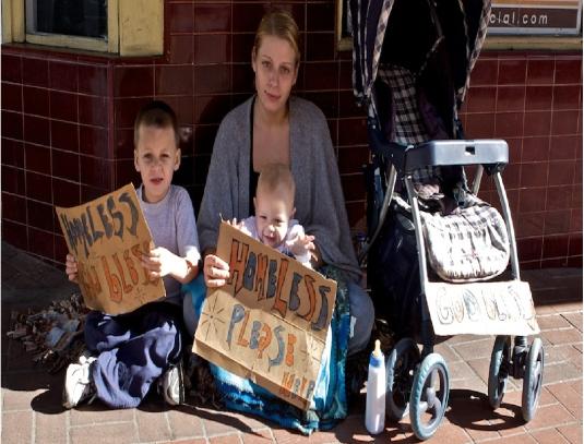 homeless family 1a