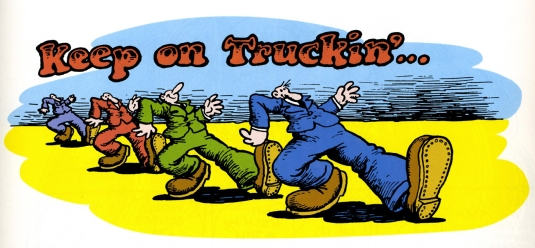 keep on trucking - graphic 3