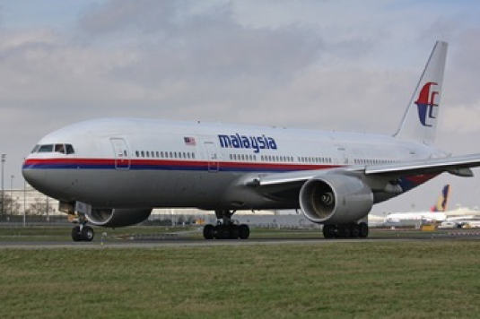 Malaysian airliner - Boeing 777