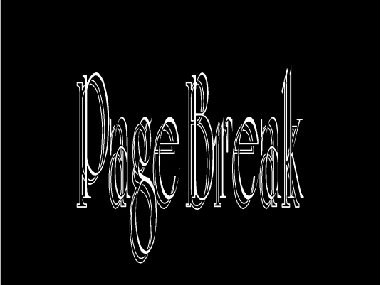 page break - Opera