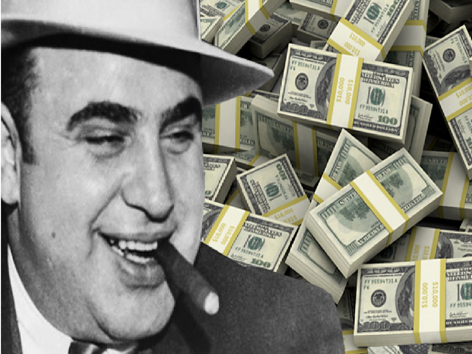 how to draw al capone