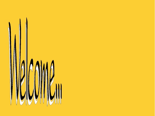 readers forum - welcome yellow