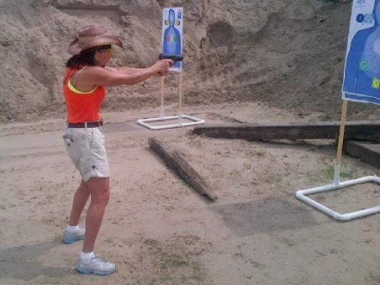 Jeanine - shooting range 1a