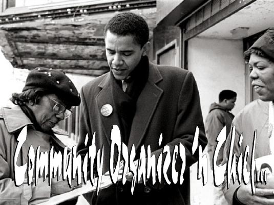 community organizer and chief