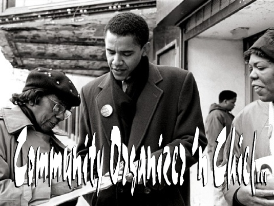 community organizer and chief