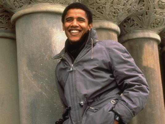 Obama - college