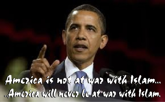 Obama not at war