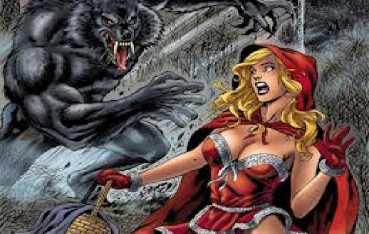red riding hood - Wolf